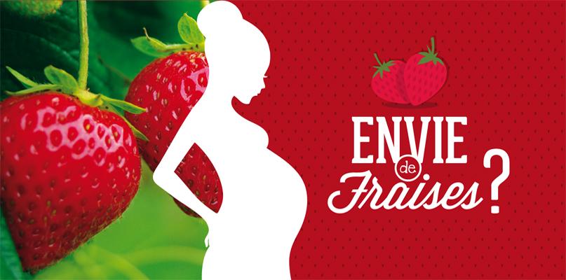 fraise pour femme enceinte